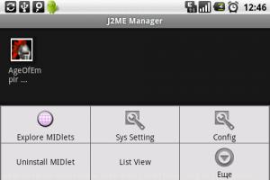 Java J2ME Runner