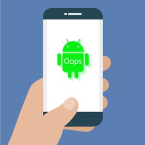 Что делать, если на Androidслетела прошивка