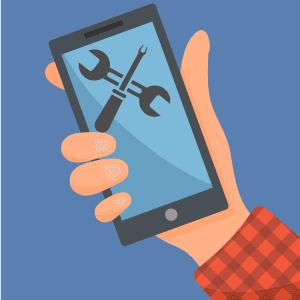 Устранить поломку сенсора мобильного телефона