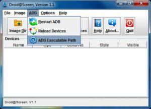 ADB Executable Path