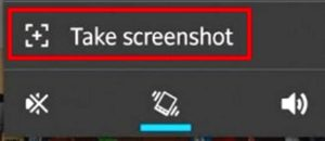 Take screenshot