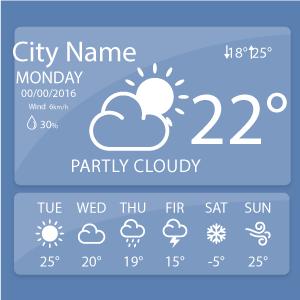 Установка виджета погоды на экран Android-устройства