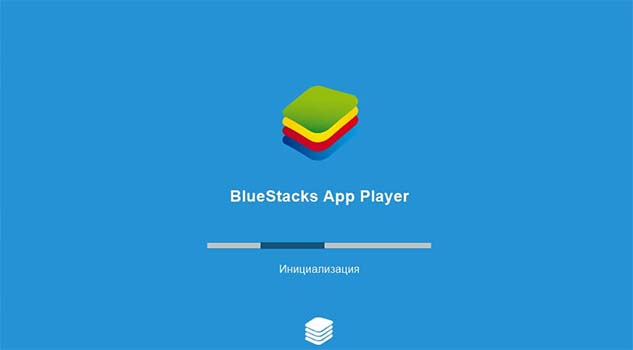 Окно Bluestacks